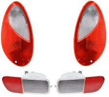 2006 - 2010 CHRYSLER PT CRUISER TAILLIGHTS AND BACK UP LAMP LEFT & RIGHT PAIR
