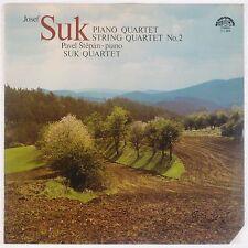 SUK: Piano & String Quartets Stepan SUPRAPHON Stereo Vinyl LP NM Super!