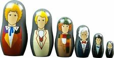 Doctor Who 1st to 6th Doctors Nesting Dolls Set