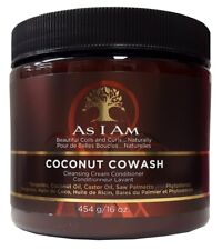 As I Am Naturally Coconut COWASH Cleansing Cream Conditioner 454g VERSAND FREI