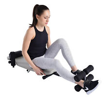 Stamina InLine BACK STRETCH BENCH PRO + NECK PILLOW - Traction Table inversion