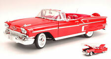 Chevy Impala Open 1958 Red 1:18 Model MOTORMAX