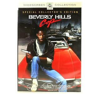 Beverly Hills Cop Special Collectors Edition Comedy Police DVD R4 Good Condition