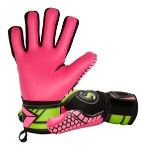 Supersave SS Premier N4 Pink Negative Cut Football Goalkeeper Gloves