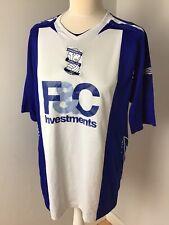 Birmingham City 2007/8 Home Umbro Football shirt Size Men's Large