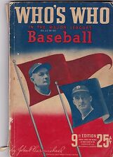 1941 Who's Who in the Major League Baseball Guide