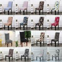Stretch Slipcovers Elastic Chair Cover Dining Room Wedding Party Banquet Seat