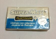 Supermax Platinum+ Stainless Double Edge Razor Blades