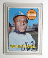 1969 Topps Baseball #309 Walt Williams Card Chicago White Sox