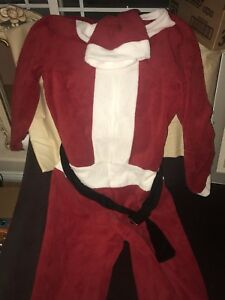 Santa Claus Union Suit Body Briefly Stated Sleepwear Christmas Halloween NWT $70
