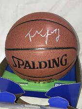 TRAE YOUNG HAWKS 2018 NBA DRAFT 1st Round Pick Signed Autograph Basketball