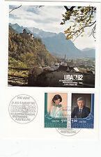 Liechtenstein Maximumkarten  LIBA 1982