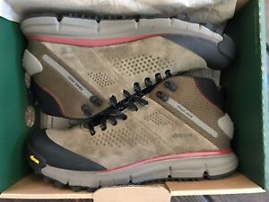 Danner Trail 2650 Mid Mens Dusty Olive Suede 4in GTX Hiking Boots Size 10.5