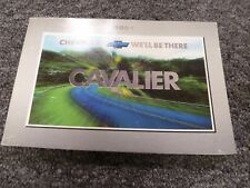 2001 Chevy Cavalier Coupe Sedan Owner Owner's Manual User Guide Z24 LS 2.2L 2.4L