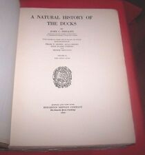 """*1923* 1st Edition  """"Natural History Of The Ducks""""  J. Phillips Vol. II"""