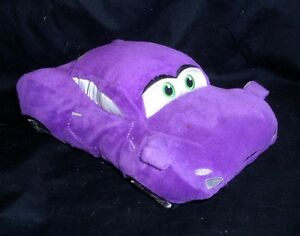 "8"" DISNEY STORE HOLLEY SHIFTWELL PURPLE CARS PIXAR STUFFED ANIMAL PLUSH TOY"