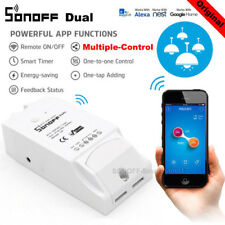 Sonoff ITEAD Dual 2 Gang Smart Home WiFi Wireless Switch Module Fr Apple Android