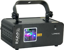Ibiza LZR60G Laser DMX 60mW Grün Show Disco Lounge Bar Club DJ Party Beleuchtung