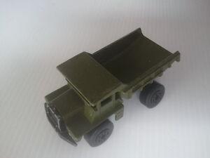 Vintage MATCHBOX Series A DUMP TRUCK Green - Model Diecast VEHICLE
