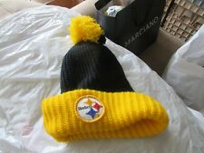 Pittsburg Steelers , Knit Cap , Excellent Condition ,Vintage