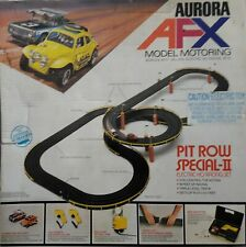 AURORA  AFX  / 1973 PIT ROW SPECIAL-II  RACE SET /IN NEAR MINT CONDITION