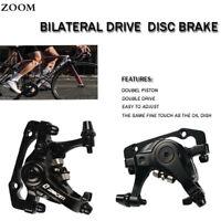 ZOOM MTB MTN Disc Brake Calipers Front & Rear Road Bike Line Pulling Hydraulic