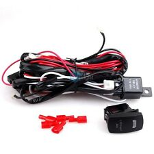 40A 12V Power Switch Relay Fuse Wiring Harness Kit For LED Light Bar Offroad