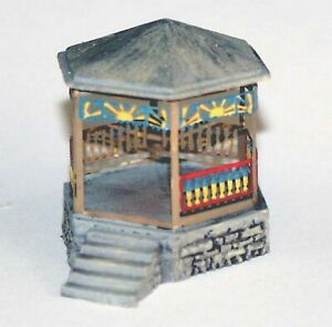 Town Park Band Stand A102 UNPAINTED N Gauge Scale Langley Models Kit 1/148