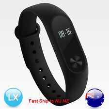 New AU Xiaomi Mi Band 2 Smart Watch Bracelet Heart Rate Monitor OLED Wristband