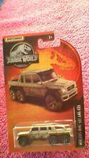 """Matchbox - 1-125 """"Jurassic World"""" - Mercedes-Benz G63 AMG 6x6 - Silver"""