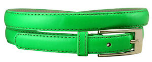 """Women Solid Color Skinny Dress Belt, 3/4"""" Wide  *Multiple Colors!* SHIPS FROM US"""