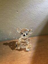 New ListingSwarovski Figurines - Sitting Teddy Bear