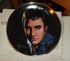 Collector plate Elvis Presley Portraits of the King Are You Lonesome Tonight