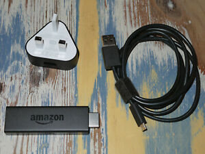 Amazon Fire TV Stick 1st Generation with Power Supply & Remote Media Streamer