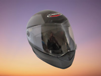 Motorcycle Helmet Caberg V2X Bright Carbon ACU ECE Approved Size Small
