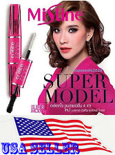 Mistine 4D SUPER MODEL MIRACLE LASH MASCARA LASH FIBERS 400%