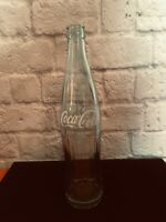 Vintage old glass Coca Cola bottle 1 pint label 16oz El Paso