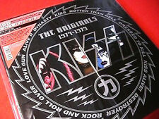 KISS THE ORIGINALS 1974 JAPAN LP BOX CORNER OBI STICKER CARD COMPLETE MINT
