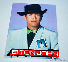 Elton John 1982 World Tour Program