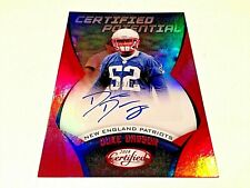 Duke Dawson 2018 Panini Certified Potential Red Refractor Rookie Autograph #/75