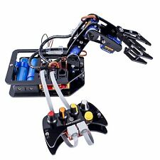 SunFounder DIY Robotic Arm 4-Axis Servo Control Rollarm with Wired Controller