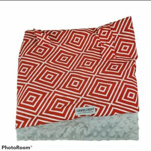 Carseat Canopy Infant Carseat Cover Breastfeeding Cover Minky Back