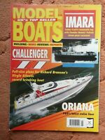 MODEL BOATS MAGAZINE JULY 1995 WITH BRANSON VIRGIN ATLANTIC CHALLENGER II PLAN