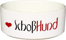 Keramik FUTTERNAPF Hundenapf mit Spruch SCHOßHUND - 1.300ml