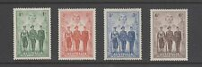 Australia 1940 - Australian Imperial Forces 4 stamp set.  SG 196/99 Mounted Mint