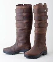 Rhinegold Colorado RIDING YARD COUNTRY BOOTS LEATHER sizes 3 - 8 adult