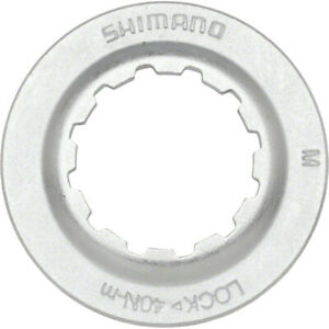Shimano Centerlock Rotor Lockring Silver/Steel
