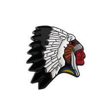 Metal Enamel Pin Badge Brooch Western Indian Chief