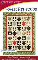 Forest Reflection Quilt Pattern - Cozy Quilt Designs