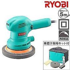 Ryobi double action polisher PED-130KT AC 100 V Car polishing kit only F/S japan